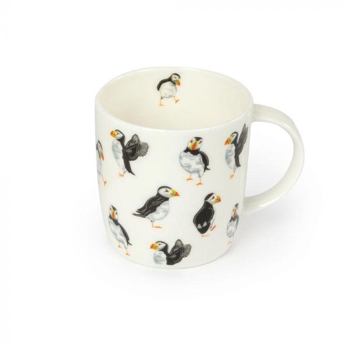 Roy Kirkham Celebration of Puffins Mug
