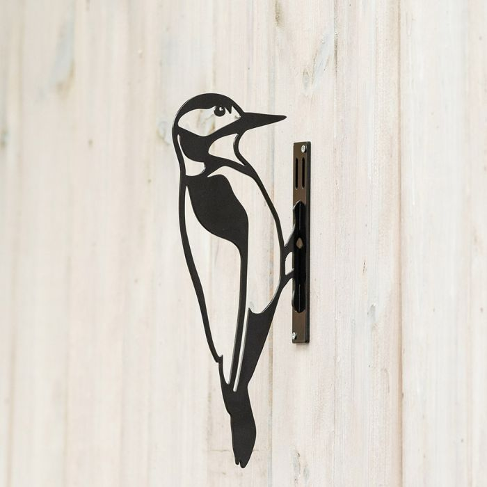 Metal Silhouette – Great Spotted Woodpecker