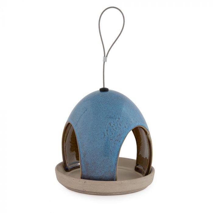 Vierno Tavern Seed Feeder Blue