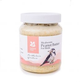 National Trust Mealworm Peanut Butter for Birds