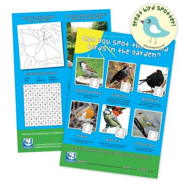 CJ's Children's Free Activity Sheets & Stickers