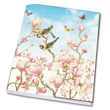 Magnolia A5 Notebook by Janneke Brinkman