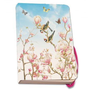 Magnolia A5 Paperback Notebook by Janneke Brinkman