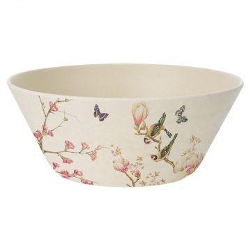 Magnolia Bamboo Bowl by Janneke Brinkman