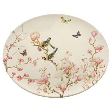 Magnolia Bamboo Dinner Plate by Janneke Brinkman
