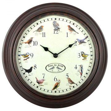 Clock with Bird Sounds