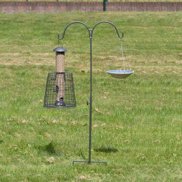 CJ's Feeder Pole Double - Grey