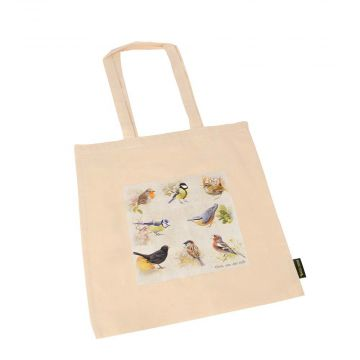 Elwin van der Kolk Garden Birds Cotton Bag