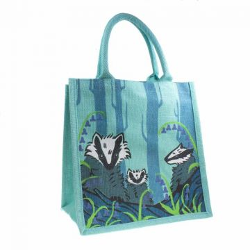 Badger Jute Shopping Bag