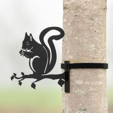 Metal Silhouette – Squirrel