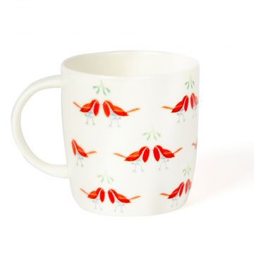 Roy Kirkham 'Kissing Robins' Mug