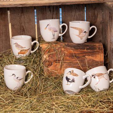 Elwin Van der Kolk Wetland Bird Mug Set