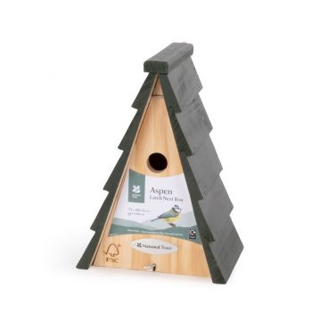 National Trust Aspen Larch 28mm Nest Box