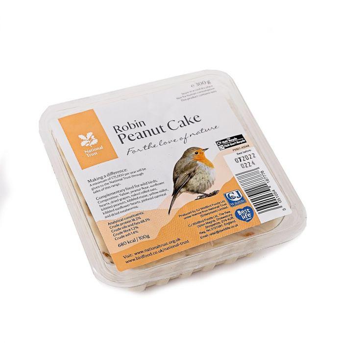 National Trust Gourmet Robin Peanut Cake 300g