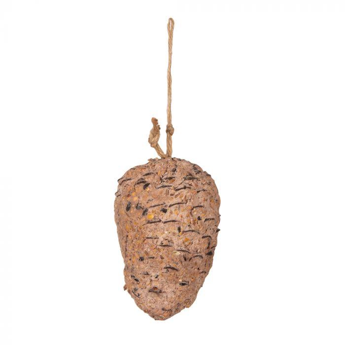 Peanut Butter filled Pine Cone