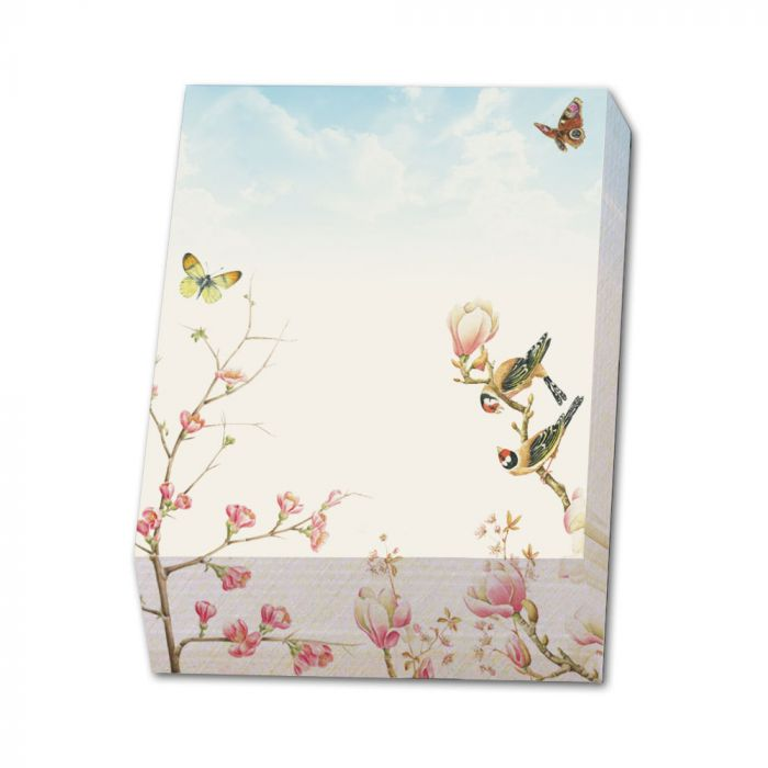 Magnolia Notepad by Janneke Brinkman
