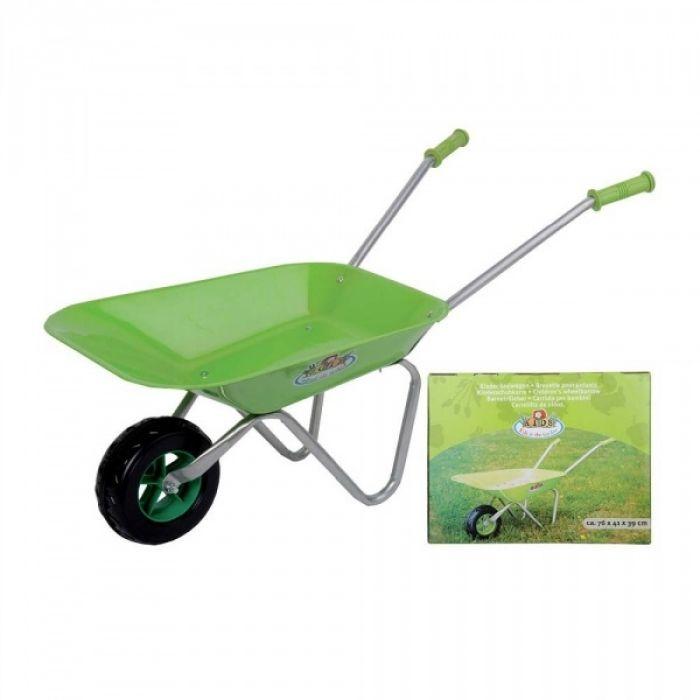 Child's Green Wheelbarrow