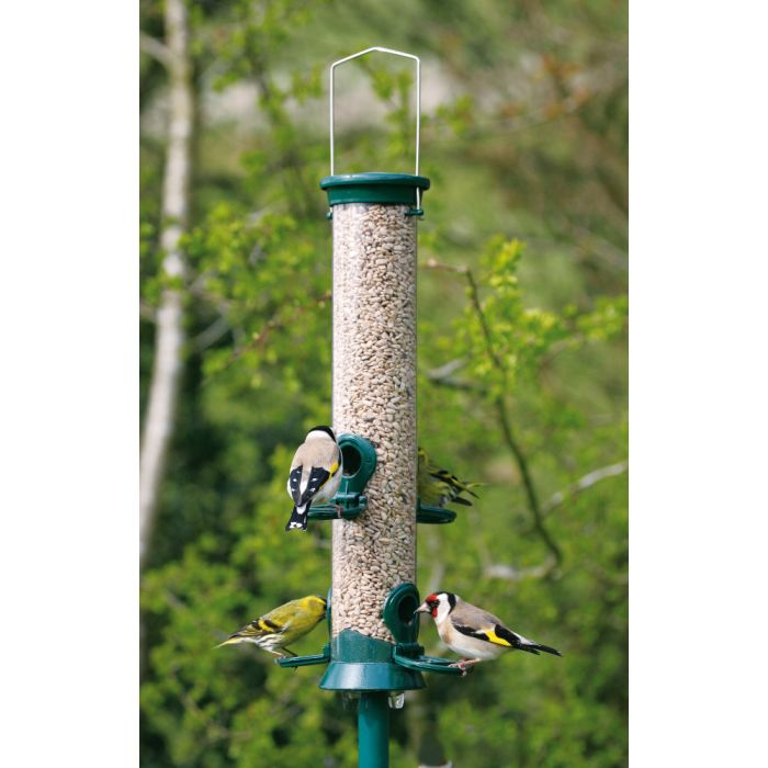 Green Defender 4 port Seed Feeder