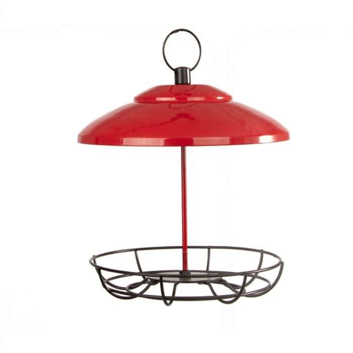 Bunbury Fat Ball and Peanut Butter Bar Feeder Red
