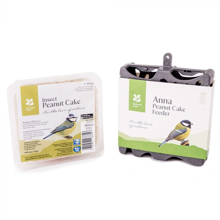 National Trust Anna Recycled Peanut Cake Feeder Pack