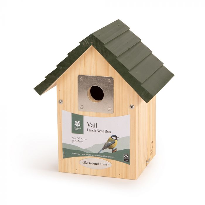 National Trust Vail Larch 32mm Nest Box