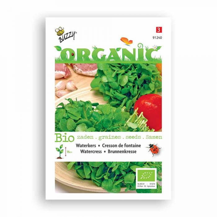 Buzzy® Organic Watercress (BIO)