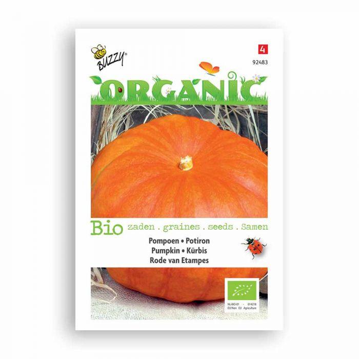 Buzzy® Organic Pumpkin - Rouge vif d'Etamp