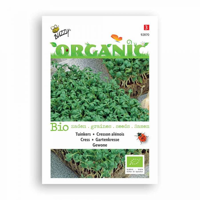 Buzzy® Organic Cress - Common (BIO)