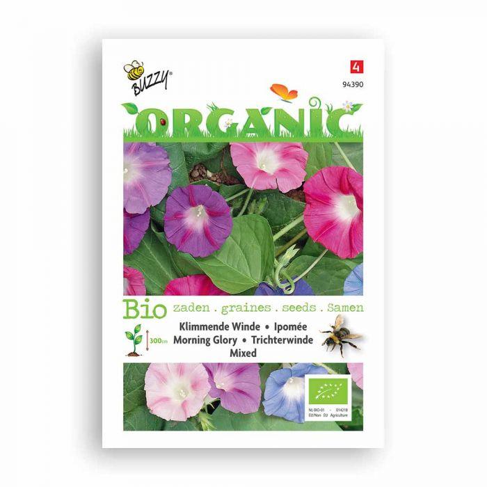 Buzzy® Organic Morning Glory Mixed