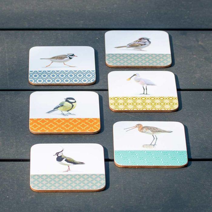 Birds Coasters by Elwin van der Kolk