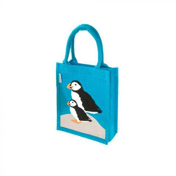 Puffin Jute Bag