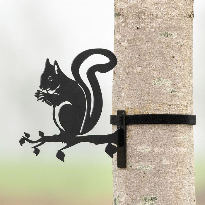 Metal Silhouette – Squirrel