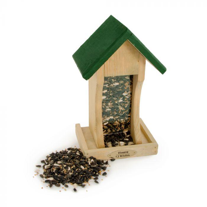 Mississippi Wooden Seed Feeder