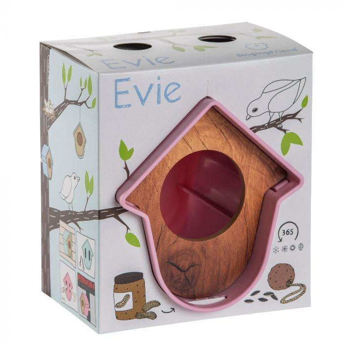 SingingFriend Evie Moss Pink Wood