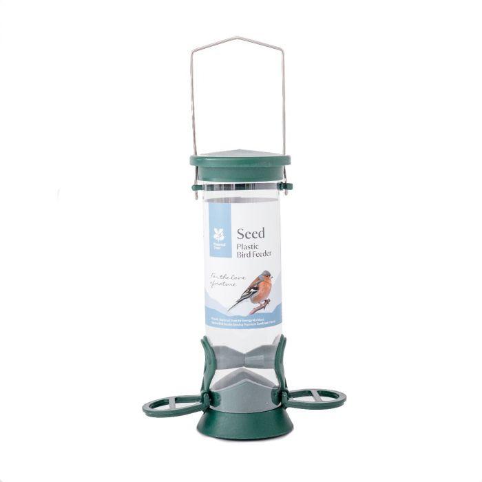National Trust 2 Port Plastic Seed Feeder