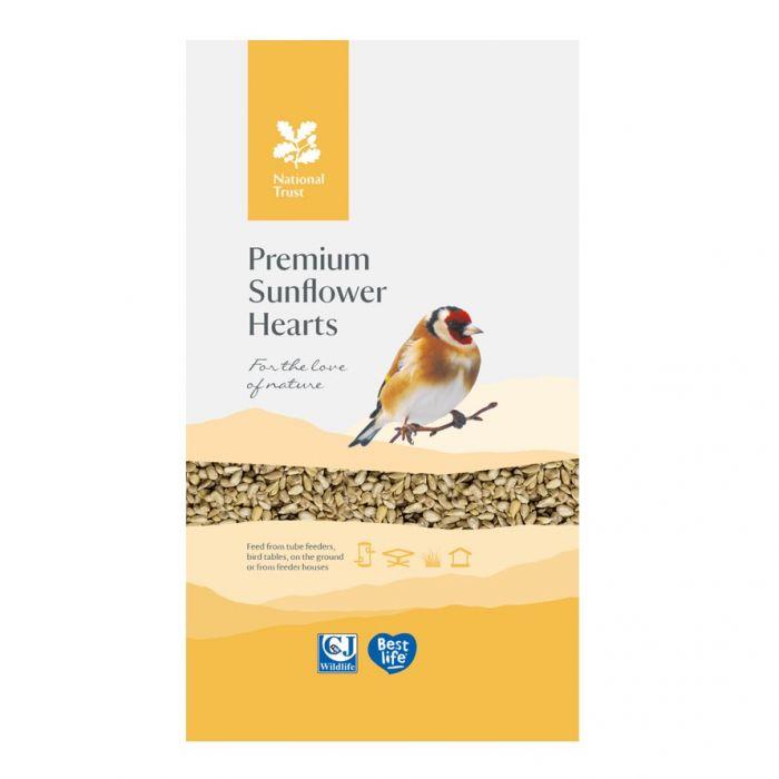 National Trust Premium Sunflower Hearts