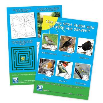 Children's Activity Sheet Age 4-7