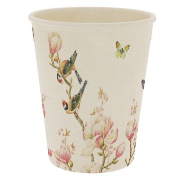 Magnolia Bamboo Cup by Janneke Brinkman