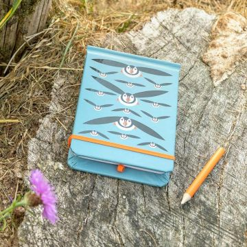 I Like Birds: Flying Puffins Spot & Jot Notebook