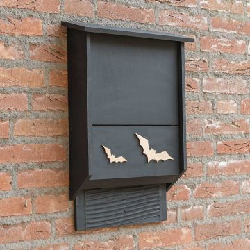 Almodovar Wooden Bat Box - Black