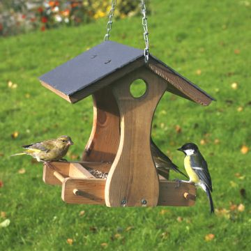 New York Slate Feeding Bird Table