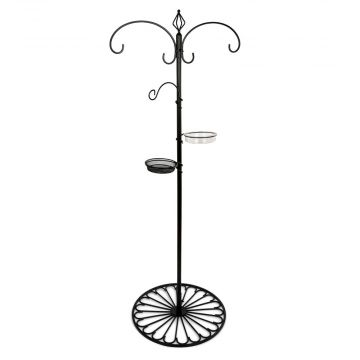 Patio Feeding Pole System - Black