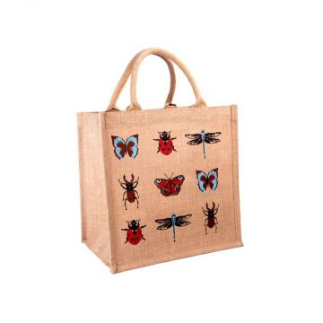 Insect Jute Shopping Bag