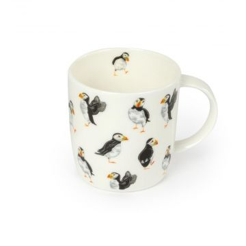Roy Kirkham Celebration of Puffins Mug