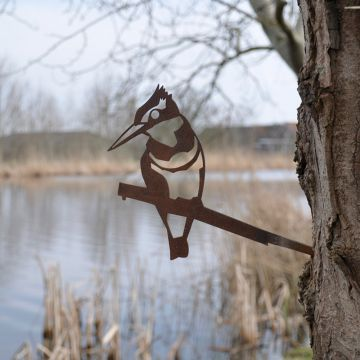 Metal Bird Kingfisher
