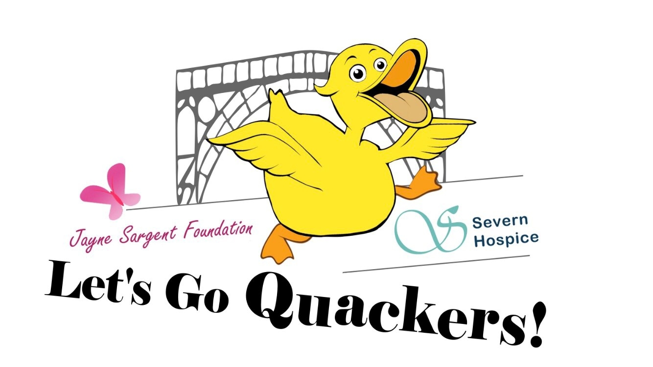 Let's Go Quackers logo