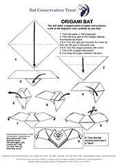 Origami Bat